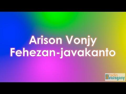 Arison Vonjy - Fehezan-javakanto (Lyrics)