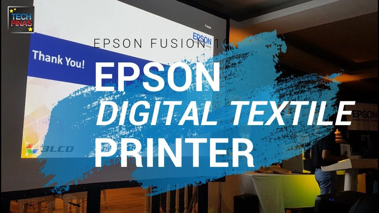Epson Philippines Textile Printers Presentation and Demo