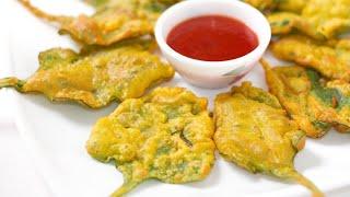 මිට කලින් නිවිති පපඩම් කාලා තියෙනවද ? 😱 Crispy Fried Spinach #shorts Bandi Full
