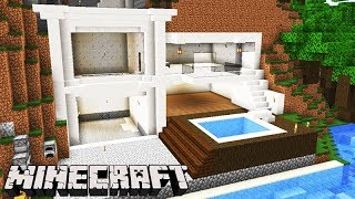 Minecraft: DUPLA SURVIVAL - A NOVA CASA MODERNA na MONTANHA!!! #63