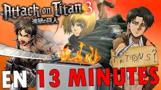 L'Attaque des Titans (S3) EN 13 MINUTES | RE: TAKE