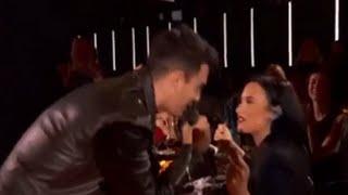 2016 iHeartRadio Music Awards- Joe Jonas Serenades Ex-Turned-BFF Demi Lovato At iHeartRadio Awards