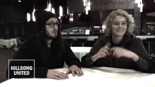Taya and J.D. from Hillsong UNITED Talk About God's Wild Ride