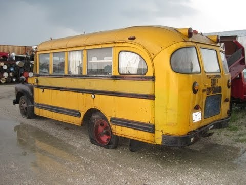 1936 Chevy School Bus For Sale On Ebay Old Motorhome