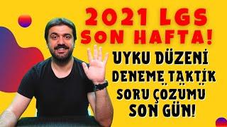 2021 LGS ye Günler Kala Mutlaka İzlemelisin! 5 Bilgi! #2021lgs