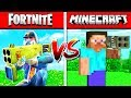 MINECRAFT vs FORTNITE: WEAPONS in Minecraft!