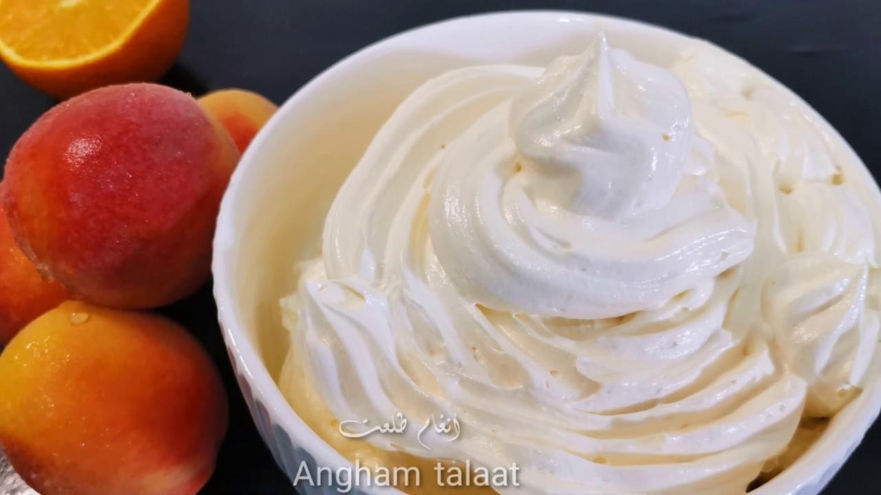 طريقة عمل كريمة الزبدة الأمريكية👌Angham talaat