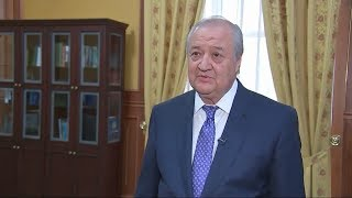 Tashqi ishlar vaziri Abdulaziz Kamilovning intervyusi