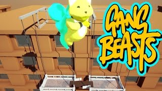 Video Gang Beasts - Lets Fly to the Rooftop [Father and Son Gameplay] download MP3, 3GP, MP4, WEBM, AVI, FLV November 2017
