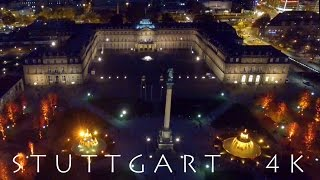 STUTTGART - Meine Stadt - My City in 4K - Aerial View DROHNE DJI Phantom & OSMO TIMELAPSE - Otarion