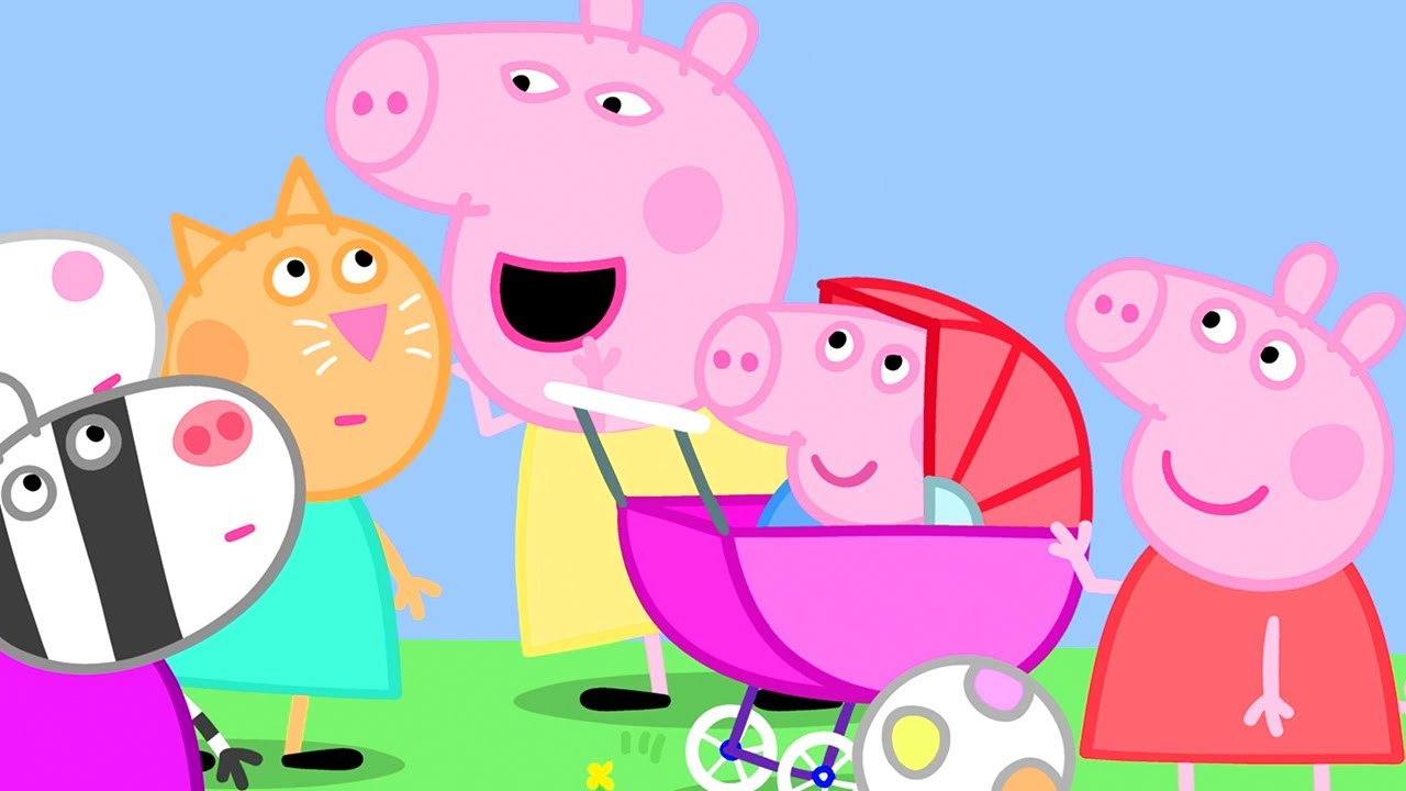 Peppa Pig Official Channel | The Baby Piggy