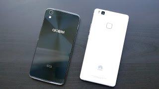 Обзор-сравнение Alcatel IDOL 4 и Huawei P9 Lite