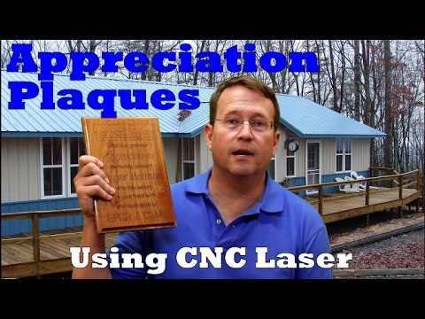 Appreciation Plaques - How to make using Laser CNC