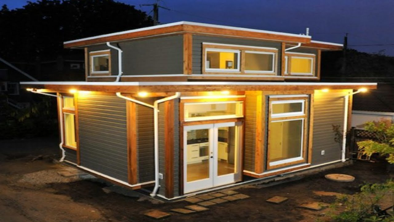 Beautiful vancouver couple build 500 square foot tiny for How much is it to build a small house