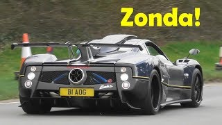 Supercars Leaving a Car Show - Saywell International Track Day - March 2019