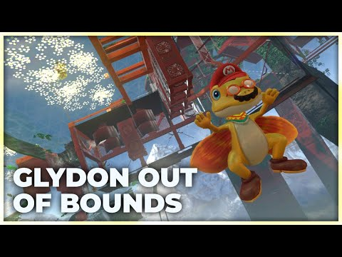 Flying Out of Bounds with Glydon! | The Slant Jump Clipping