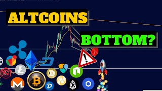 Did Altcoins find a Bottom? | Bitcoin (BTC) Price Decline And Continue Further Lower Why? XRP ETH .