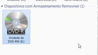 Como Reativar o driver de CD/DVD do PC