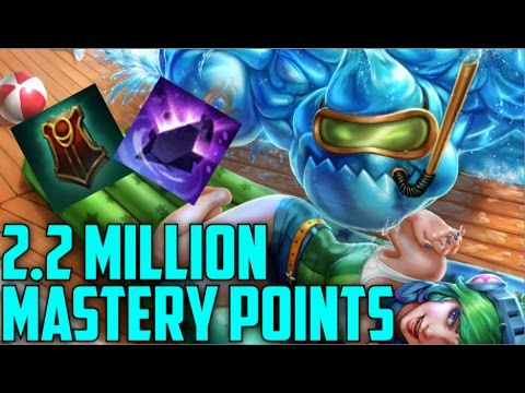 Silver Support ZAC 2,200,000 MASTERY POINTS- Spectate Highest Mastery Points on Zac