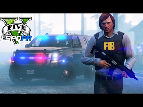 GTA 5 - LSPDFR Ep219 - FBI Agents Combat Terrorists!!