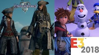 Kingdom Hearts 3 E3 News and Trailer Reactions