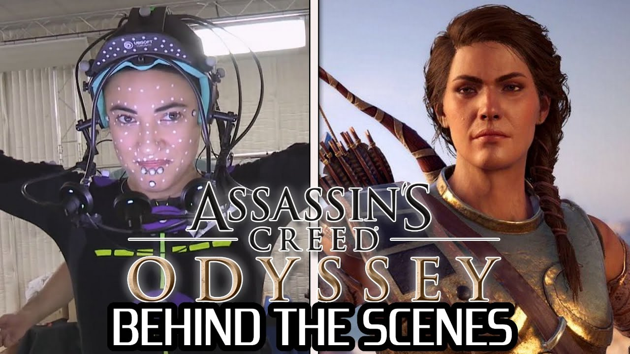 Behind The Scenes Assassin S Creed Odyssey Youtube