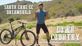 "Bike Check: Santa Cruz Blur cc ""DOWNCOUNTRY"" edition// Bike Check and Trail Shred on Cali Coast"