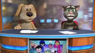 Talking Tom and Ben News: Teen Titans Go! Part 4