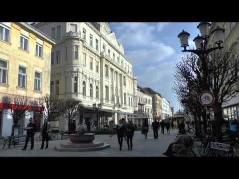 Györ - eine barocke Stadt in Westungarns Tiefebene Pannonien - Für Städtetrips hervorrangend!