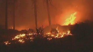 Tűz pusztít Észak-Kaliforniában