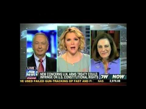 Gun Owners of America - Larry Pratt, Exec. Dir., with Fox News' Megyn Kelly on U.N. Arms Treaty