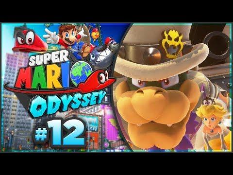 Super Mario Odyssey - Bowser's Kingdom 100% Walkthrough! [Part 12]