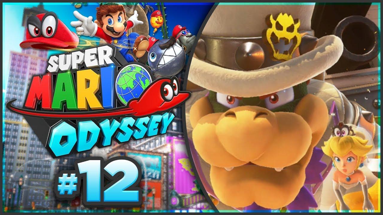 Super Mario Odyssey Bowser S Kingdom All 62 Power Moon Locations