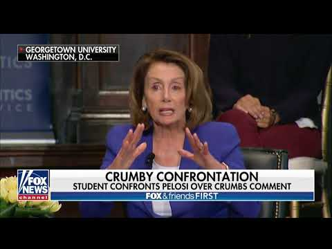 College Student Confronts Pelosi for Calling Tax Cut Benefits 'Crumbs'