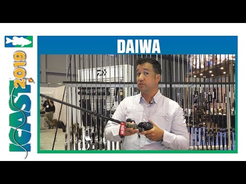 Daiwa Prorex Winn Grip Casting Rods With Greg Johnson | ICast 2019