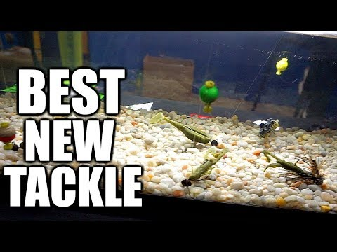 BEST NEW TACKLE 2018 from the Bassmaster Classic Expo!!!