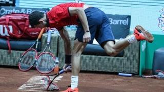Quand les tennismen pètent les plombs