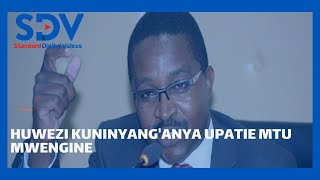 Murang'a Governor Mwangi wa Iria weighs in on revenue allocation debate