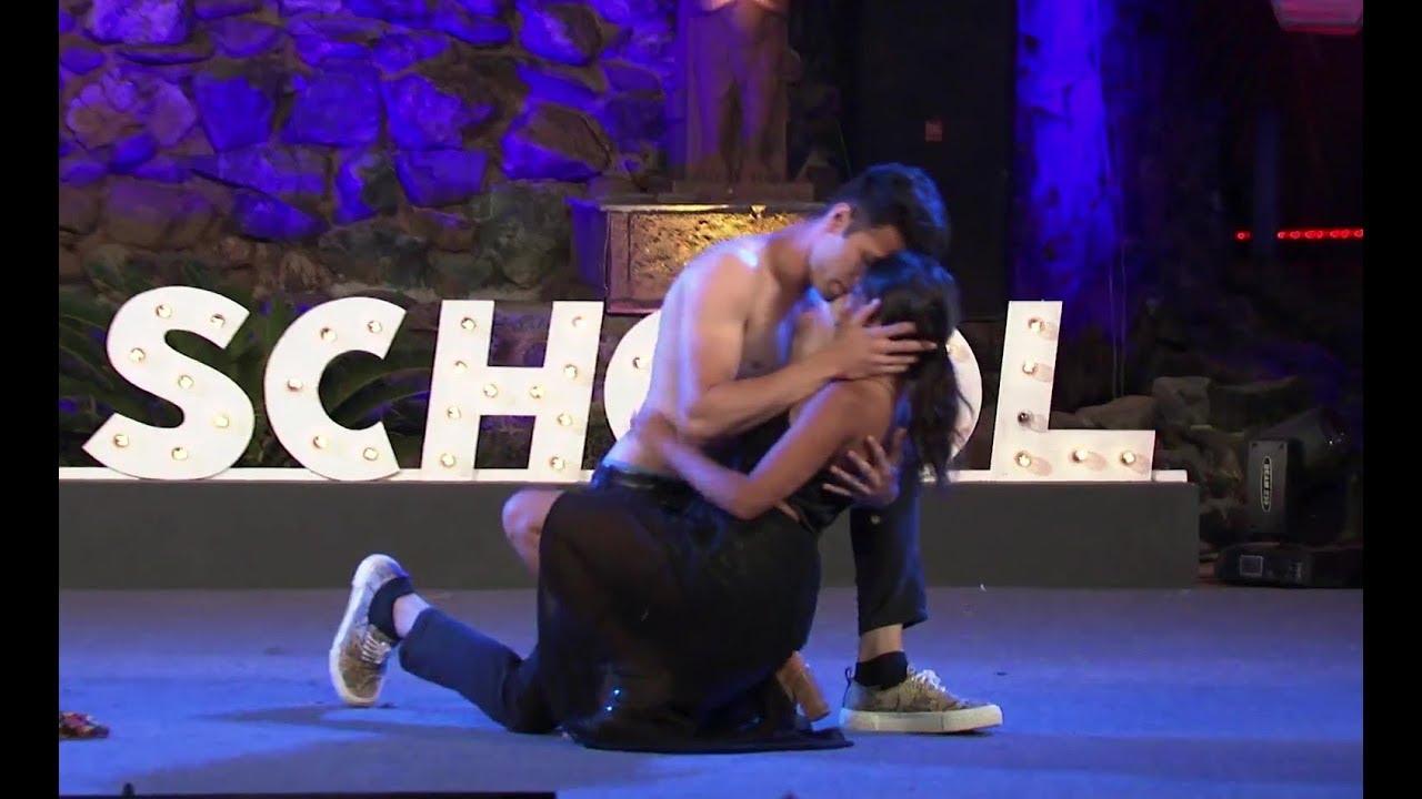 Download MTV Love School 4 Intimate Uncut Dance Of Shafan & Gizelle   Sun Sathiya