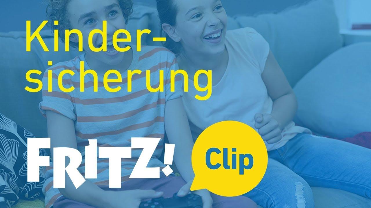 FRITZ! Clip – Online-Zeiten festlegen mit der Kindersicherung