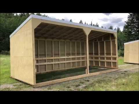 10x24 Horse Shelter