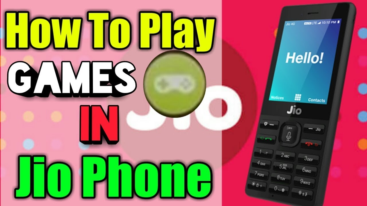 How To Play Games Jio Games In Jio Phone 1500 Jio Phone Latest