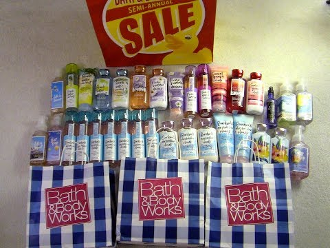 GIGANTIC BATH & BODY WORKS SUMMER HAUL!!!