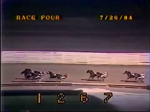 1984 Yonkers Raceway ROCKIN ABBE C2 Pace Merritt Dokey