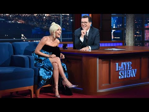 Full Interview: Lady Gaga Talks To Stephen Colbert - Видео онлайн