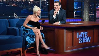 Download lagu Full Interview Lady Gaga Talks To Stephen Colbert