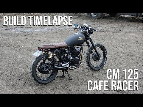 Cafe Racer Timelapse Build - Honda CM 125