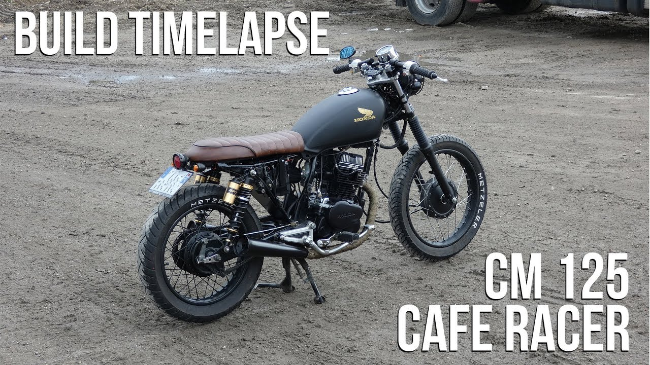cafe racer timelapse build honda cm 125 youtube. Black Bedroom Furniture Sets. Home Design Ideas