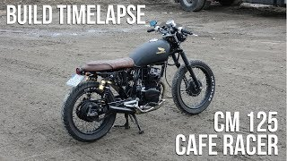 Cafe Racer Timelapse Build - Honda CM 125