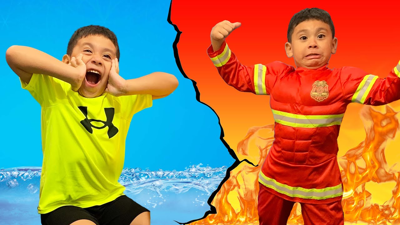 Fire Rescue With Super Ryan Firefighter l Kids Pretend Play